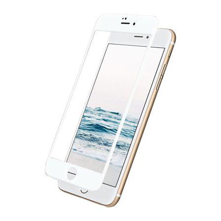 TEMPERED GLASS 5D für iPhone 6/6s Plus weiß